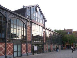 Anne Duquesne guide conferenciere Lille halles marche couvert wazemmes